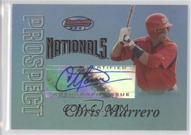 2007 Bowman's Best Prospects Blue #BBP54 - Chris Marrero /99