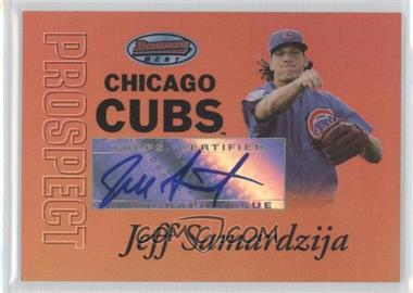2007 Bowman's Best Prospects Gold #BBP38 - Jeff Samardzija /50