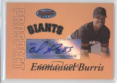 2007 Bowman's Best Prospects Gold #BBP57 - Emmanuel Burriss /50
