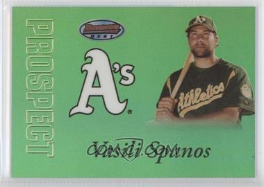 2007 Bowman's Best Prospects Green #BBP23 - Vasili Spanos /249