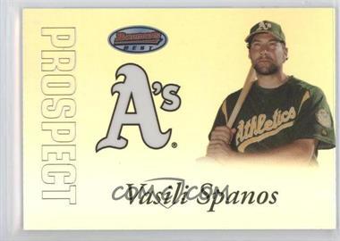 2007 Bowman's Best Prospects #BBP23 - Vasili Spanos /499