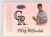 Greg Reynolds /499