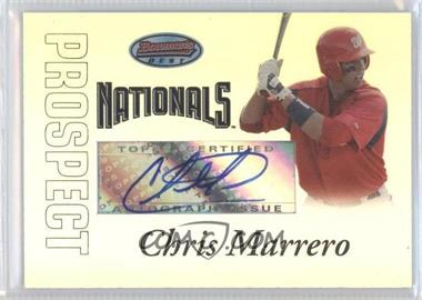 2007 Bowman's Best Prospects #BBP54 - Autograph - Chris Marrero