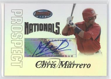 2007 Bowman's Best Prospects #BBP54 - Chris Marrero