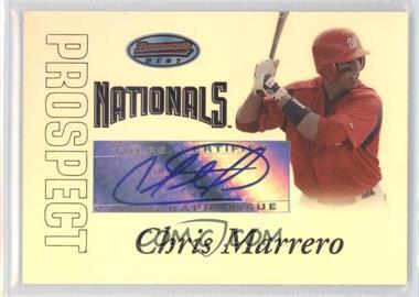 2007 Bowman's Best Prospects #BBP54 - Chris Marrero