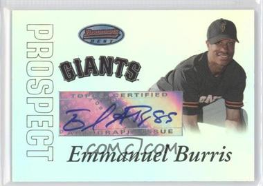 2007 Bowman's Best Prospects #BBP57 - Emmanuel Burriss