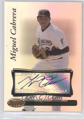 2007 Bowman's Best #27 - Miguel Cabrera