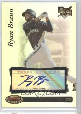 2007 Bowman's Best #97 - Ryan Braun