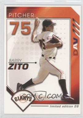 2007 Disabled American Veterans St. Louis Cardinals #28 - Barry Zito