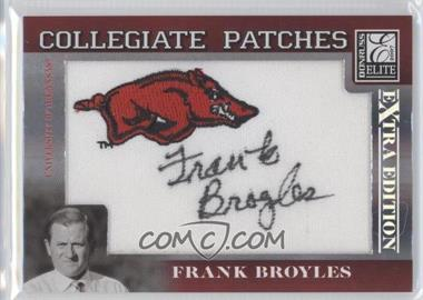 2007 Donruss Elite Extra Edition [???] #CP-FB - Frank Broyles /250