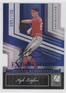 2007 Donruss Elite Extra Edition Aspirations Autographs #116 - Kyle Lotzkar /100