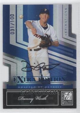 2007 Donruss Elite Extra Edition Aspirations Autographs #145 - Danny Worth /100