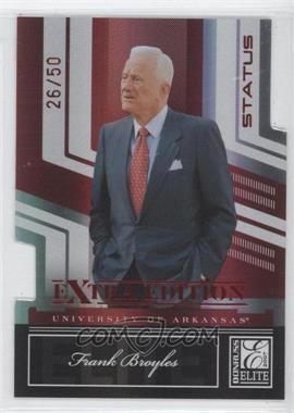 2007 Donruss Elite Extra Edition Status #70 - Frank Brooks /50