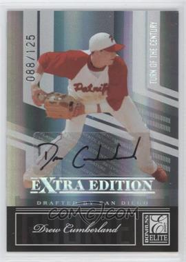2007 Donruss Elite Extra Edition Turn of the Century Autographs #100 - Drew Cumberland /125