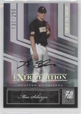 2007 Donruss Elite Extra Edition Turn of the Century Autographs #33 - Max Scherzer /250