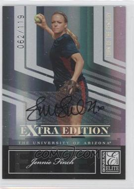 2007 Donruss Elite Extra Edition Turn of the Century Autographs #77 - Jennie Finch /119