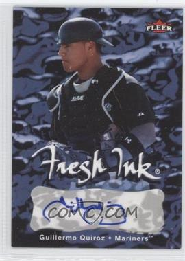 2007 Fleer Fresh Ink #FI-GQ - Guillermo Quiroz