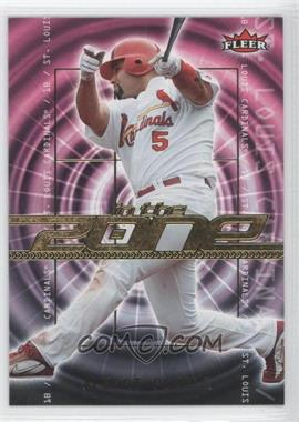 2007 Fleer In the Zone #IZ-AP - Albert Pujols