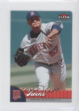2007 Fleer Mini Die-Cut #142 - Johan Santana