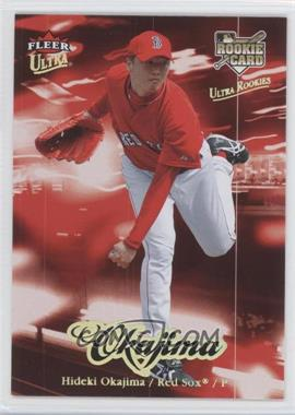 2007 Fleer Ultra - [Base] - Gold Medallion #220 - Hideki Okajima