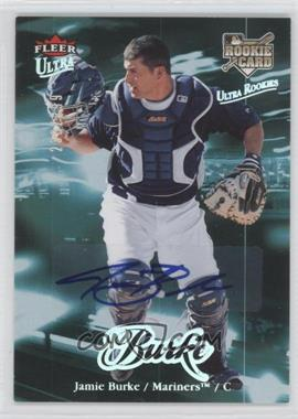 2007 Fleer Ultra - [Base] - Rookie Autographs #213 - Jamie Burke /299