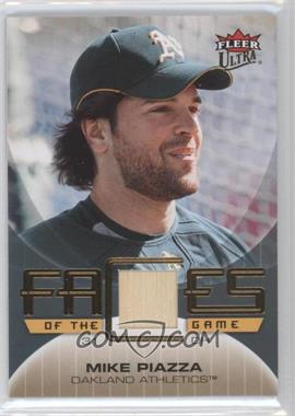 2007 Fleer Ultra - Faces of the Game - Materials #GF-MP - Mike Piazza