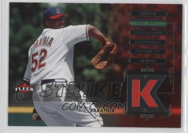 2007 Fleer Ultra - Strike Zone #SZ-CC - CC Sabathia