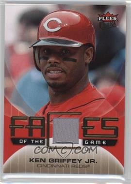 2007 Fleer Ultra Faces of the Game Materials #GF-KG - Ken Griffey Jr.