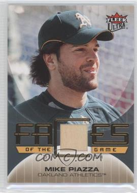2007 Fleer Ultra Faces of the Game Materials #GF-MP - Mike Piazza