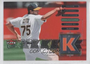2007 Fleer Ultra Strike Zone #SZ-BZ - Barry Zito