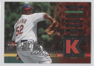 2007 Fleer Ultra Strike Zone #SZ-CC - C.C. Sabathia