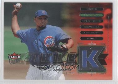 2007 Fleer Ultra Strike Zone #SZ-CZ - Carlos Zambrano