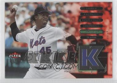 2007 Fleer Ultra Strike Zone #SZ-PM - Pedro Martinez