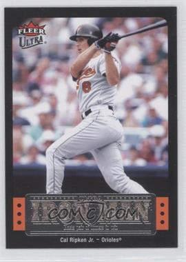 2007 Fleer Ultra Ultra Iron Man #UIM-12 - Cal Ripken Jr.