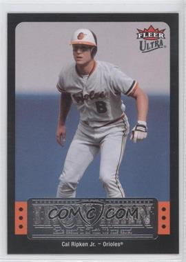 2007 Fleer Ultra Ultra Iron Man #UIM-18 - Cal Ripken
