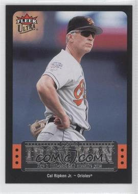 2007 Fleer Ultra Ultra Iron Man #UIM-42 - Cal Ripken