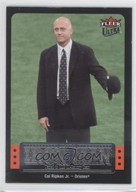 2007 Fleer Ultra Ultra Iron Man #UIM-47 - Cal Ripken Jr.