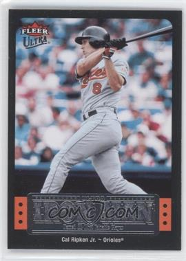 2007 Fleer Ultra Ultra Iron Man #UIM-7 - Cal Ripken Jr.