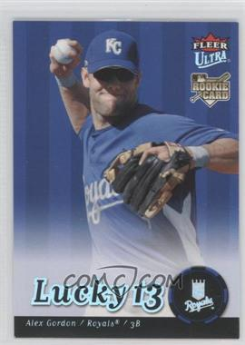 2007 Fleer Ultra #246 - Alex Gordon