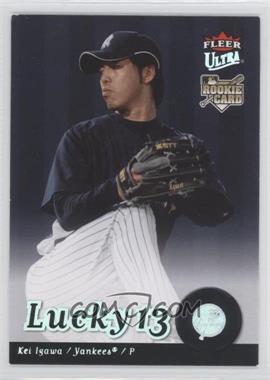 2007 Fleer Ultra #248 - Kei Igawa
