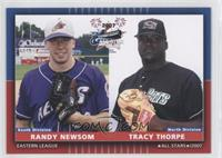 Randy Newsom, Tracy Thorpe