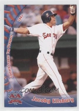 2007 Grandstand Eastern League Top Prospects - [Base] #JAEL - Jacoby Ellsbury