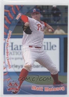 2007 Grandstand Eastern League Top Prospects - [Base] #MAMA - Matt Maloney