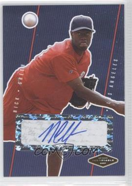 2007 Just Minors - Justifiable - Autographs [Autographed] #JF-13 - Nick Gregory