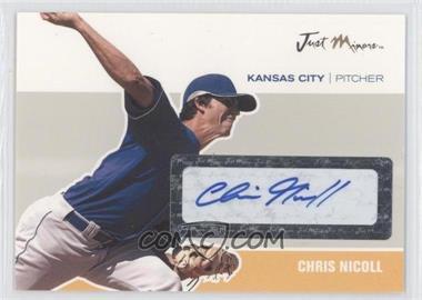 2007 Just Minors Just Autographs Autographs [Autographed] #JA-33 - Chris Nicoll