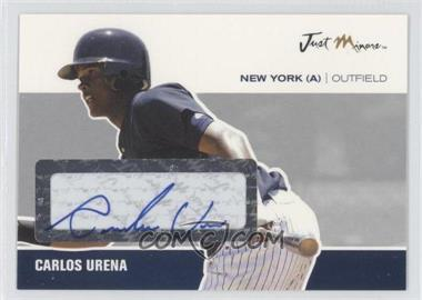 2007 Just Minors Just Autographs Silver Glossy Autographs [Autographed] #JA-47 - Carlos Urena /1