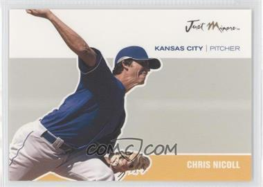 2007 Just Minors Just Autographs #JA-33 - Chris Nicoll