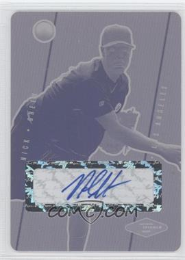 2007 Just Minors Justifiable Press Plate Magenta Autographs [Autographed] #JF-13 - Nick Gregory /1