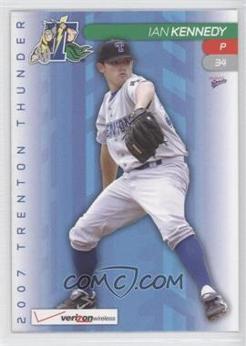 2007 Multi-Ad Sports Trenton Thunder #34 - Ian Kennedy