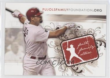 2007 Pujols Family Foundation #NoN - Albert Pujols